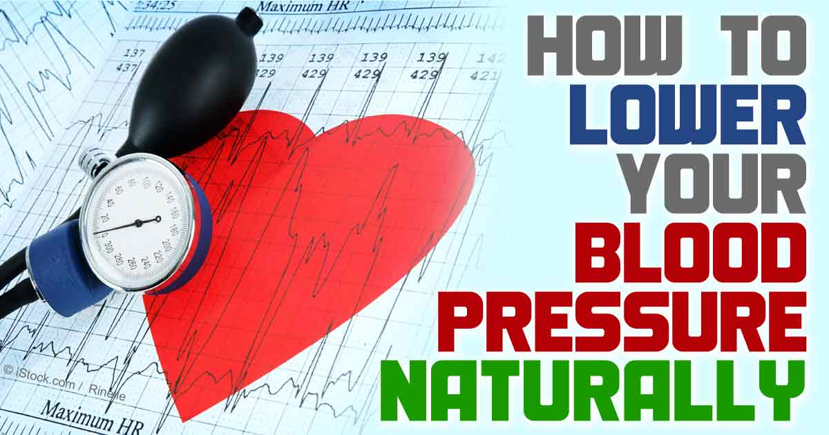 How To Lower Blood Pressure Fast Without Medications And