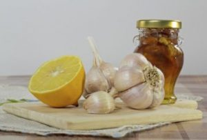 garlic and lemon